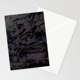Flora Celeste Magnetite Leaves Stationery Cards