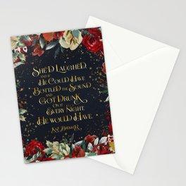 She'd laughed... Kaz Brekker Stationery Cards