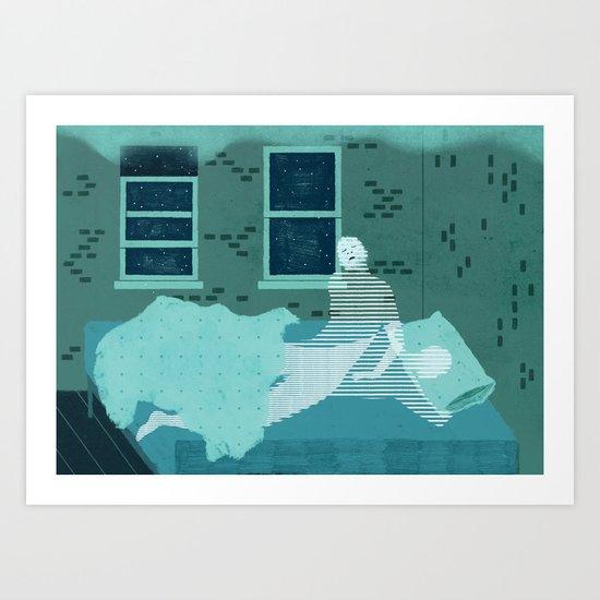 Sleepwalk Art Print