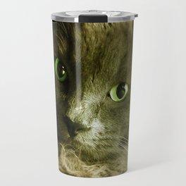 Wake up! Time to feed the Cat! Travel Mug