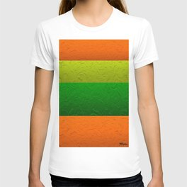 Orange Lime and Green Passion T-shirt