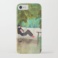jungle iPhone & iPod Cases featuring jungle by Lara Paulussen