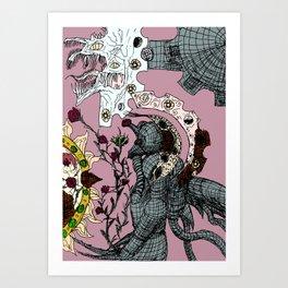 Decaying Wonderland I Art Print