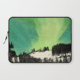 Dont Forget Northern Lights Laptop Sleeve