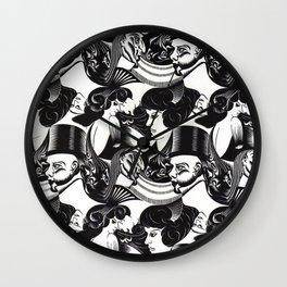 M. C. Escher - illusion Wall Clock