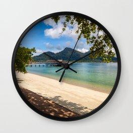 Pangkor Laut Malaysia Wall Clock