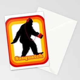 Retro Sasquatch Stationery Cards
