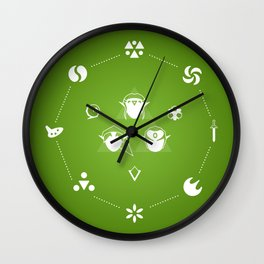 Zelda Ocarina of Time Wall Clock