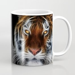 Tiger on black Coffee Mug