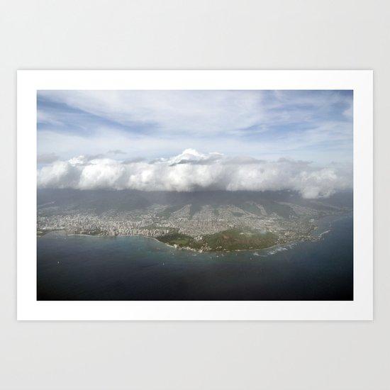 Meet Me in the Sky Art Print