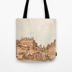 Tea in Edinburgh Tote Bag