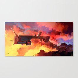 Lumbering Giant Canvas Print