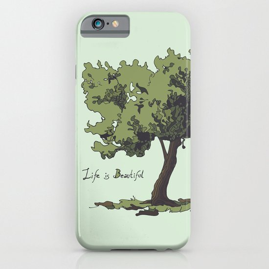 Life is Beautiful Olive Tree iPhone & iPod Case