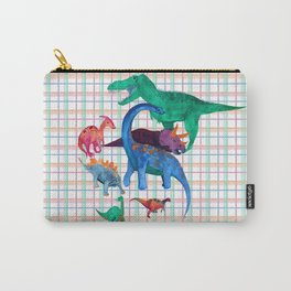 Triassic Plaid Carry-All Pouch