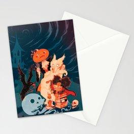 Spooky Books Stationery Cards