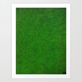Gusanos Art Print