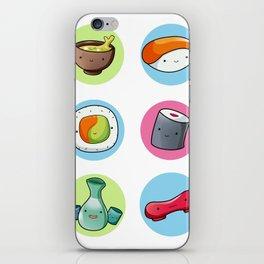 SUSHI TIME iPhone Skin