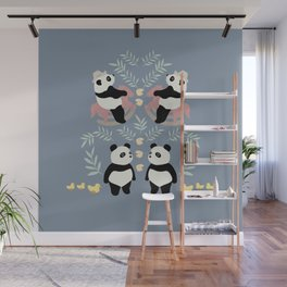 PLAYFUL PANDA Wall Mural