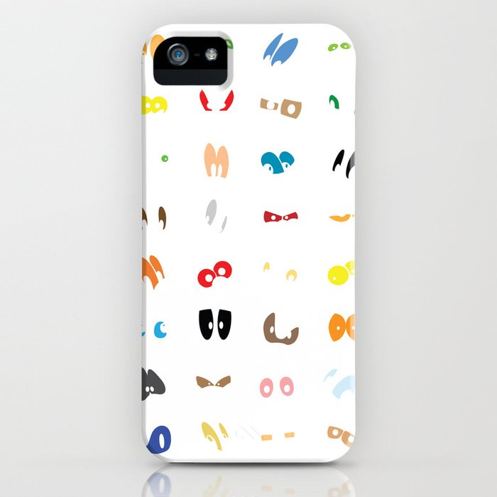 Different Eyes iPhone Case