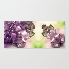 Crystal Connection Canvas Print