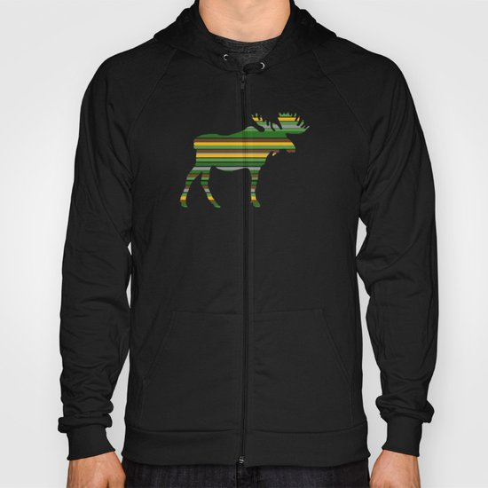 Moose - Forest Colors Hoody