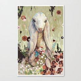 A Goat of Refinement Canvas Print