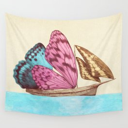The Voyage (option) Wall Tapestry