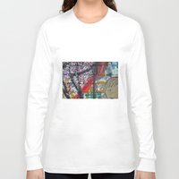 sparkles Long Sleeve T-shirts featuring bricks & sparkles by AntWoman
