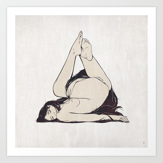 My Simple Figures: The Triangle Art Print