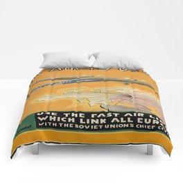 Vintage poster - USSR Comforters