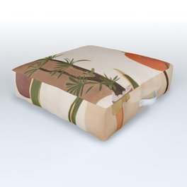 Wonders of the New Day Outdoor Floor Cushion