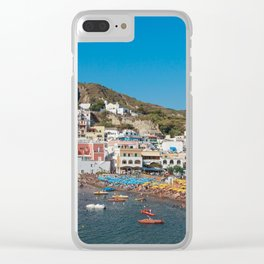 Sant' Angelo, Ischia Clear iPhone Case