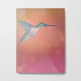 Humming Bird with a Whistle Metal Print