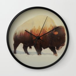Bison (V3 Series) Wall Clock