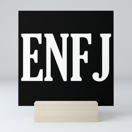 ENFJ Personality Type Mini Art Print