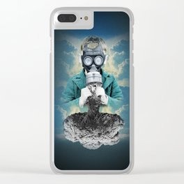 Breathe Easy Clear iPhone Case