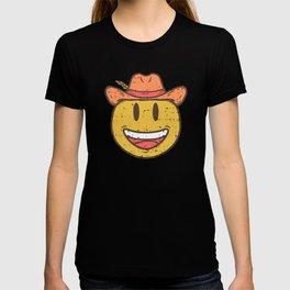 Cowboy Rancher cattleman  Smiley Gift T-shirt