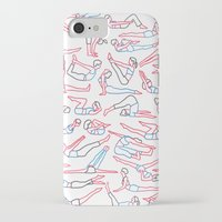 workout iPhone & iPod Cases featuring Workout by Jacopo Rosati