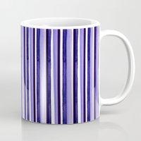 stripe Mugs featuring stripe by Sara Berrenson