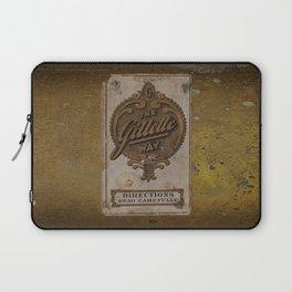 old razor ad Laptop Sleeve