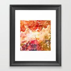 Breaking Away Framed Art Print