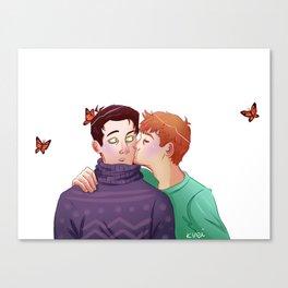 Kieren and Simon Canvas Print