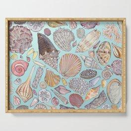 Sanibel Sea Shells Serving Tray