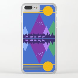 Wolf Pack Passage Clear iPhone Case