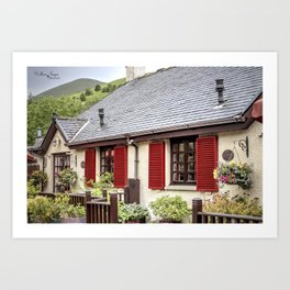 Banks of Loch Lomond Art Print