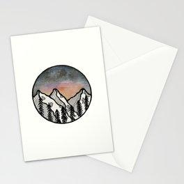 Three peaks I Stationery Cards