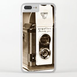 Argus Camera Clear iPhone Case