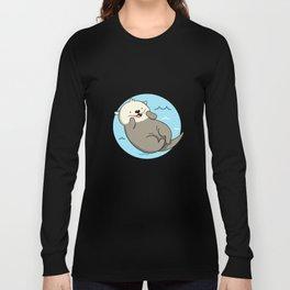Cute Kawaii Otter Long Sleeve T-shirt