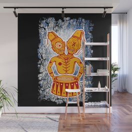 Conjoined Twins Circus Freaks Wall Mural