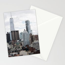 Flat Downtown Stationery Cards